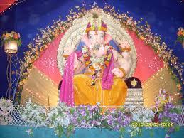 Decoration Themes For Ganesh Festival At Home by Ganesh Utsav Celebrations Ganesh Chaturthi Decoration I Flickr