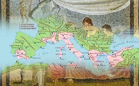 Roman World Map the roman world interactive map heritagedaily heritage