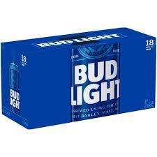 Bud Light Beer 18 Pack 16 Fl Oz Walmart Com