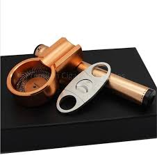 cigar gift set cohiba metal cigar ashtray cutter gift set fashion cigar