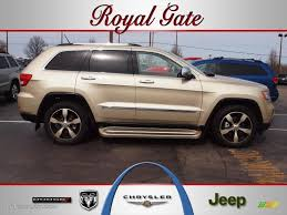2011 jeep grand white 2011 white gold metallic jeep grand overland 61288725