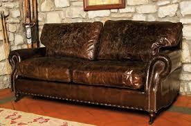 ledersofas im landhausstil 3 sitzer sofa in antikleder landhausstil idfdesign