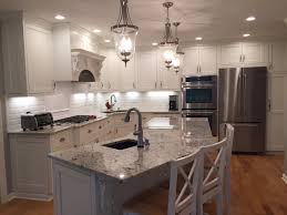 granite countertop lowes canada kitchen cabinets glass tile