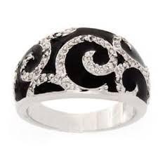onyx gemstone rings for less overstock com