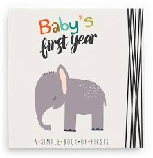 animal lover memory book baby