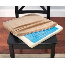 Memory Foam Dining Chair Cushion Cooling Gel Memory Foam Seat Cushion Alera Alecgc511 For Gel