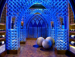 Most Beautiful Interior Design by Superb Stemless Wine Glasses In Wine Cellar Contemporary With
