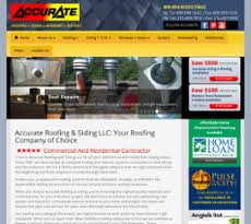 accurate roofing siding unlimited company profile owler