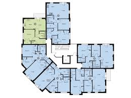 Apartment Block Floor Plans Woodland House Apartment 16 Sold Campbell Homes Limited
