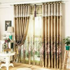 vintage bedroom curtains ombre floral print poly cotton blend vintage bedroom curtains