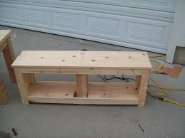 Free Woodworking Plans Bench With Storage by Entryway Storage Bench Plans Free Bench Decoration