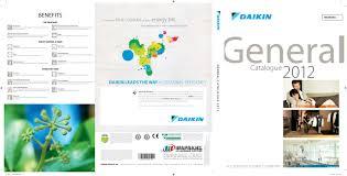 daikin general catalogue 2012 by nikos psarakis issuu