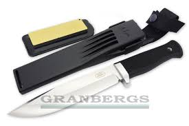 granbergs fallkniven a1 pro fixed blade survival knife