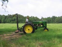 first cutting of hay field yesterday u0027s tractors