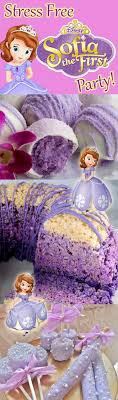 sofia the birthday party ideas no stress sofia the party ideas brownie bites