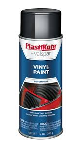 amazon com plastikote 411 black vinyl paint 12 oz automotive