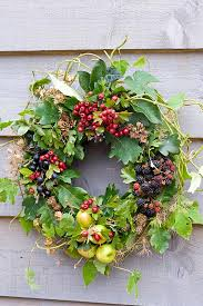 summer berry wreath would like to make an artificial one for home