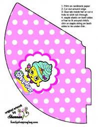 shopkins party hat 2 shopkins party hats free printable ideas