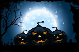 download wallpaper halloween holiday horror funny pumpkin moon
