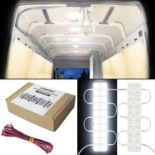 enclosed trailer interior light kit 40 led 12v cargo cer rv interior light kit trailer truck any 12v