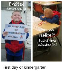 School Sucks Meme - excited before school stgt1 2016 when you realize it sucks five