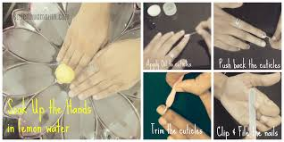 how to do a professional salon style manicure at home in 06 simple