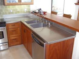 stainless steel countertop with sink 74 best stainless steel kitchen countertops images on pinterest
