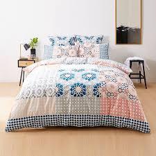 Moroccan Bed Sets Moroccan Tile Quilt Cover Set Target Australia For Moroccan Duvet