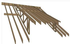 Timber Dormer Construction Roof Beams Sidehung From Trusses Framing Contractor Talk