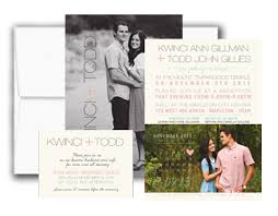 wedding invitations with photos my invite list wedding invitations