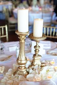 Wedding Candle Holders Centerpieces by Best 25 Gold Candles Ideas On Pinterest Gold Wedding