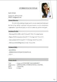 cv format for freshers doc download file sle resume format pdf sle resume pdf file resume template