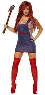 of chucky costume costume culture women s chucky costume clothing