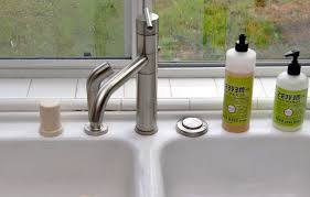 how to install or replace a kitchen faucet inside beautiful