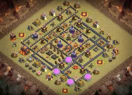 image clash of clans xbow 7 th8 5 th9 5 th10 5 war base designs 2017