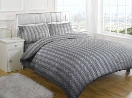 Fur Comforter Bedroom Awesome Cable Knit Bedding And Charming Sidetable