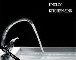 Unstop Kitchen Sink Simple Tricks To Unclog Kitchen Sink Theindianspot
