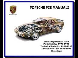 porsche 928 parts catalog porsche 928 1978 1995 workshop service repair manual