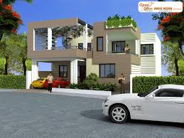4 bedrooms duplex 2 floor house design in 216m2 12m x 18m