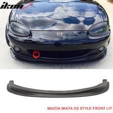 99 00 mazda miata mx 5 ds style front bumper lip chin spoiler pu