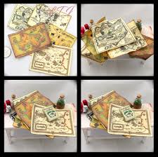Narnia Map Mystical Magical Maps 5 Miniature Dollhouse 1 12 Scale Wizard Of