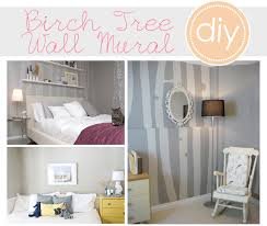 Wall Mural White Birch Trees Diy Trend Birch Tree Wall Murals At Home With Natalie