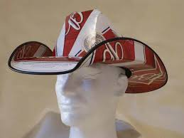 bud light beer box hat cowboy hat made from recycled budweiser beer boxes shophandmade