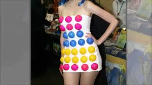 diy katy perry dot candy dress youtube
