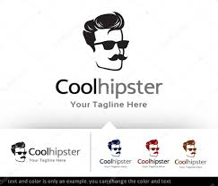 Cool Stock by Cool Hipster Logo Template Design Vector U2014 Stock Vector