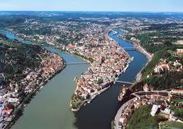 Passau Germany Map by