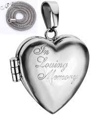 in loving memory lockets cheap heart locket chain find heart locket chain deals on line at