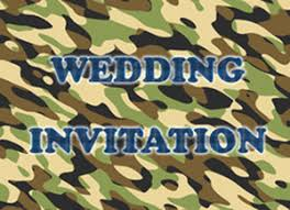 Camouflage Wedding Invitations 35 Of The Most Bizarre Wedding Invitations Storkie
