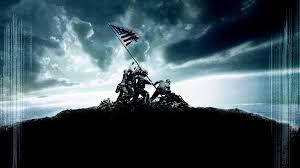 Soldiers Lifting Flag Iwo Jima Flag Raising Wallpapers Wallpaper Cave