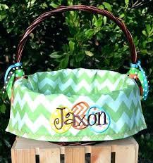 custom easter baskets monogrammed easter baskets monogrammed basket monogram